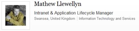 Mathew Llewellyn